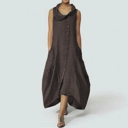 Asymmetrical Casual Loose Plus Size Dress