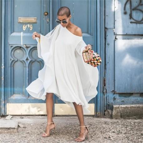 Midi Oversized Plus Size Dress