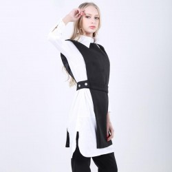 Sleeveless Tunic High Waist Irregular Long Vest