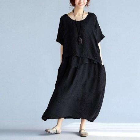 large Long Confortable Dress