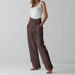 Casual Harem Pants Pockets Long Plus Size