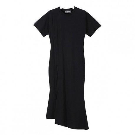 drawstring adjustable empire waist bottom-line Dress