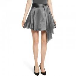 Bottom Zipper With Sash Skirt