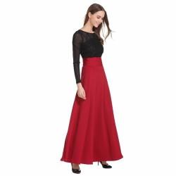 Floor Length Long Skirt Plus Size