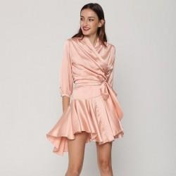 Draped Irregular Dresses