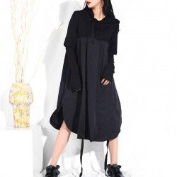 Loose Drawstring Dress