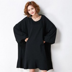 Loose Oversize  Dress Casual