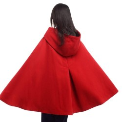 Warm Winter Mid-Length  Cloak