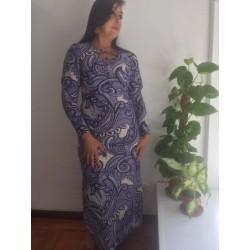Size M/L Purple strechable  dress