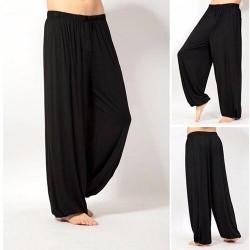 Men Baggy Trouser Jumpsuit Harem Pants Bottom Slacks