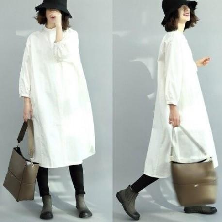 oversized fit Long Sleeve dress