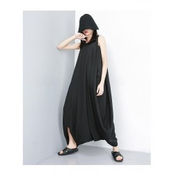 Jumpsuit Lady Casual Streetwear Oversized