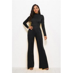 jumpsuit wide leg Long sleeve