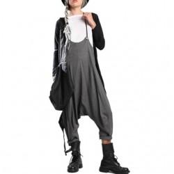 Sleeveless Drop Crotch Long Jumpsuit