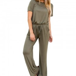 Long Playsuit Wide Leg Jumpsuit