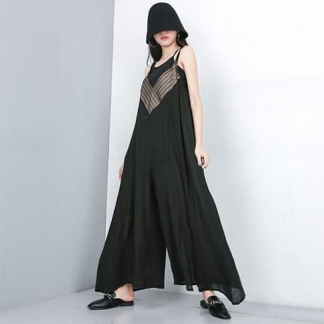 Plus Size Jumpsuit  Summer Streetwear